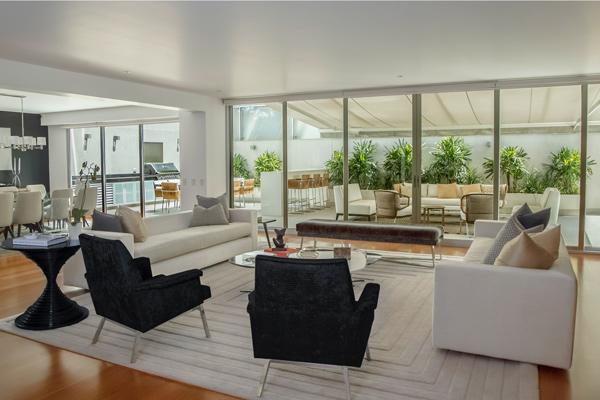 Sliding Patio door in modern home